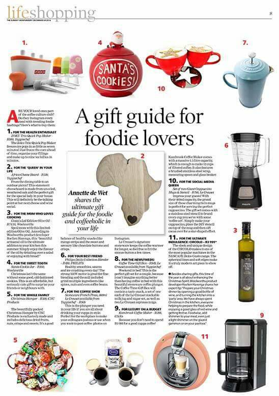Sunday Independent Foodie Gift Guide